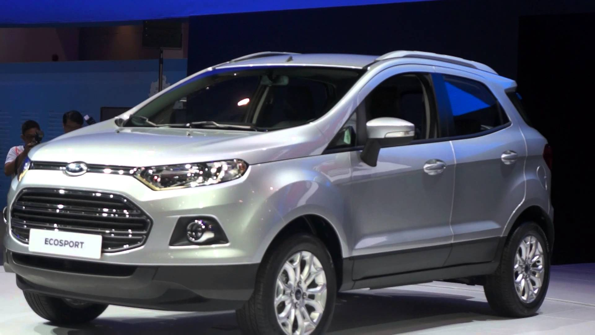 India made Ford EcoSport SUV To Be Exported to Europe