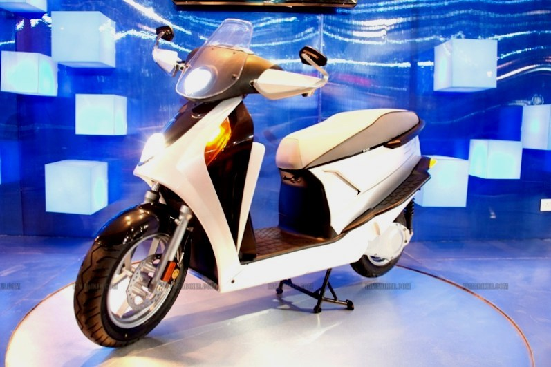 First Hybrid Scooter Hero Leap will launch soon in India