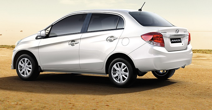 Fuel Efficient Honda Amaze Launched at 4.99 lakhs