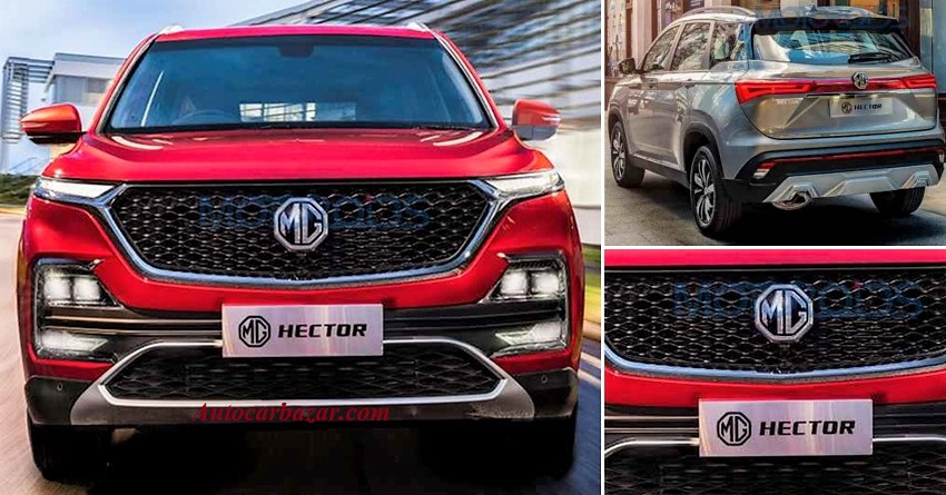 2019 MG Hector lauched in India, price at Rs. 12.18 Lakh