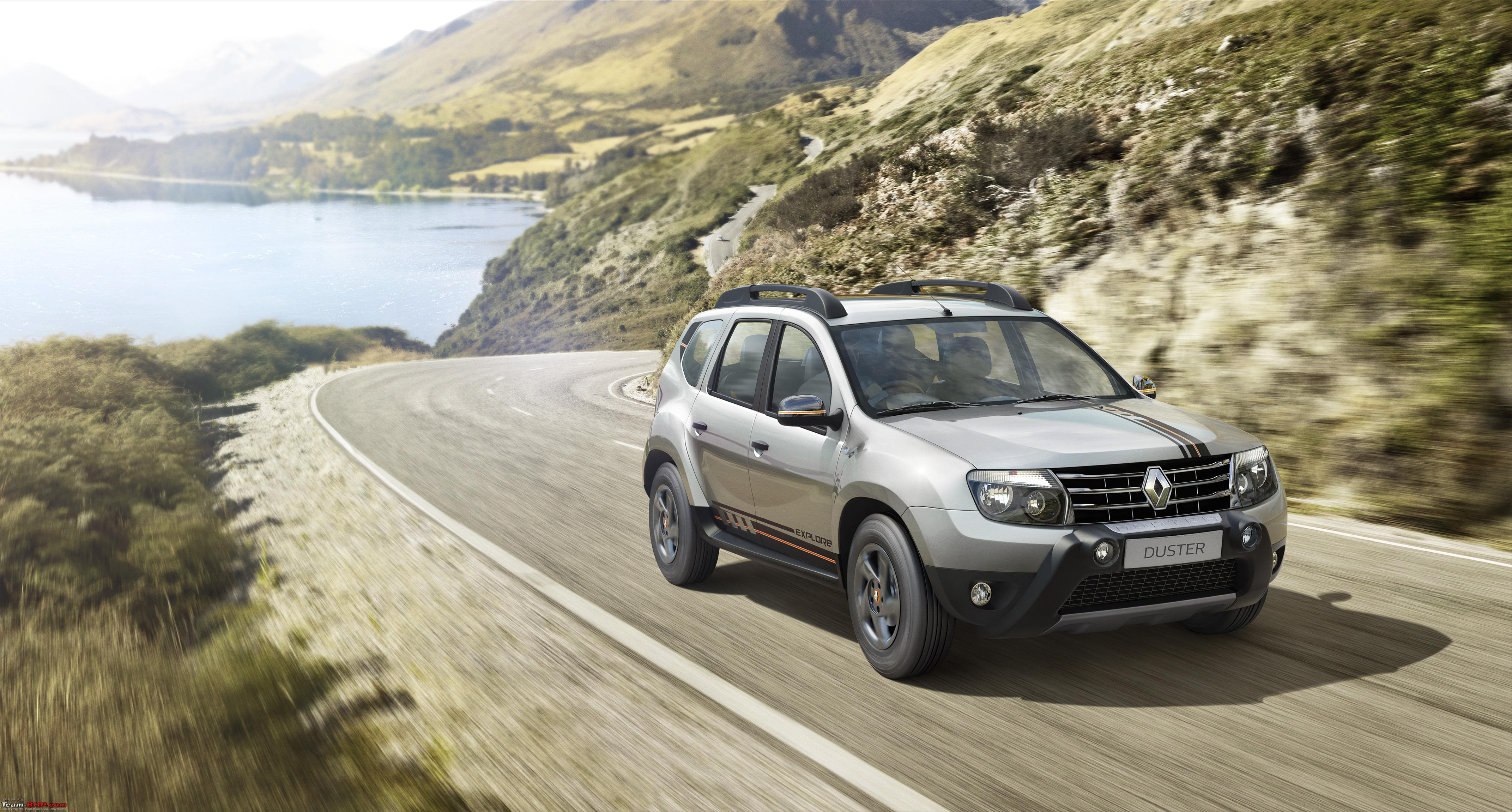 Renault Duster Receives A Futuristic Front From DC Design