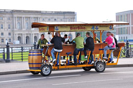 So are you ready to join the Beer bike over a drink