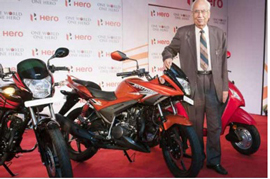 Hero MotoCorp Gets Production New Hero XF3R Patented