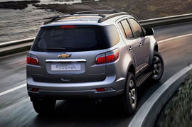 Chevrolet Trailblazer spied on a test yet again