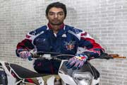 CS Santosh to be first Indian biker to take part in Dakar Rally
