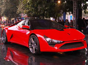 A treat to the eyes DC Avanti on the Delhi roads