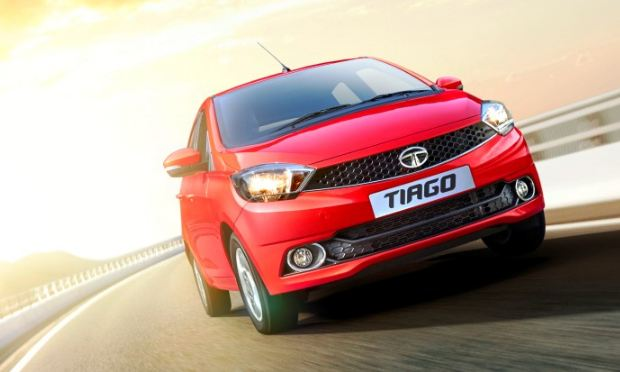 Electric Tata Tiago Vehicle With 100km Showcased