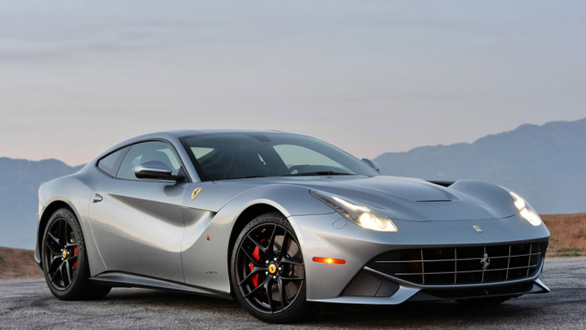 Ferrari F12 GTO all dressed up for the Frankfurt Auto Show 2015