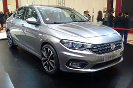 Fiat Aegea snapped at the production Unit, launch likely in November 2015