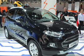 Ford EcoSport a start performer at the Auto Performance Show