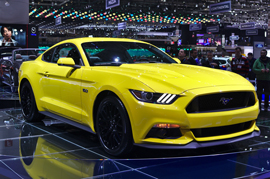 A closer glance at the Ford Mustang India