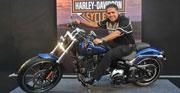 Harley Davidson Fat Boy is 25 yrs old