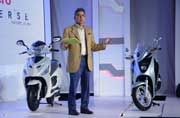 Hero Leap India First Electric Hybrid Scooter launch in 2015