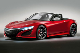 Honda coming up with a new Sports car