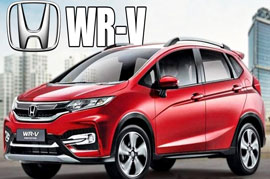 Honda WRV India Launched this year