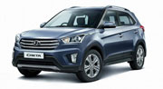 Hyundai Creta snapped at the dealership Spy Story