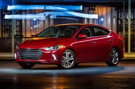 Hyundai Elantra A good contender at the Auto Show 2016