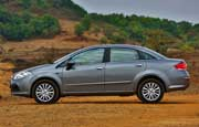 It is  refined version of the Fiat Linea