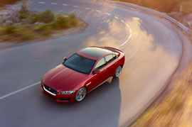 Spy story of the Jaguar XE sedan