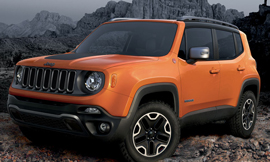 The spy story of the Jeep Renegade spotted on a test in India