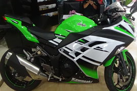 Kawasaki Indonesia rolls out a Limited Edition Ninja 250