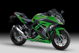 Kawasaki celebrates with Ninja 300 Anniversary Limited Edition