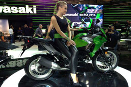 2017 Kawasaki Versys X 300 with Adventure Design