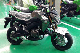Kawasaki Z125 appears over the web debut possible for the 25th of October