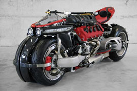 A dash of innovation Lazareth LM 847 Quad Wheel Motorcycle