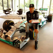 Let get closer to Lewis Hamilton and F1