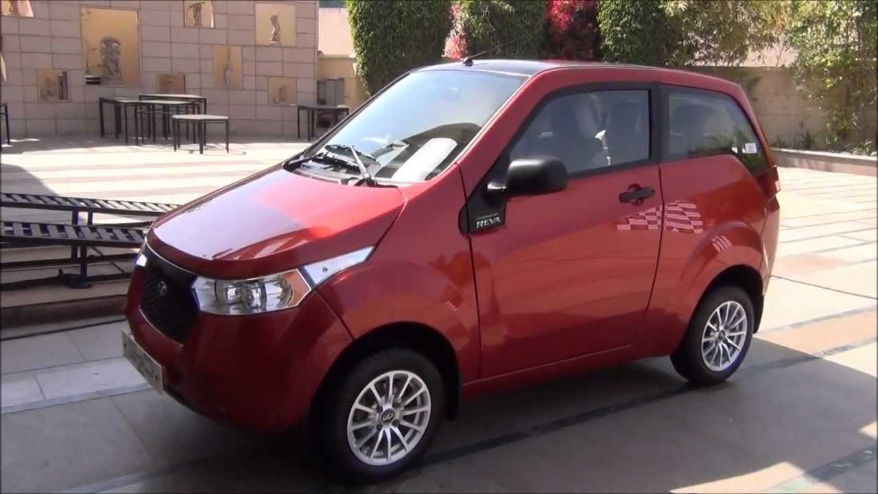Mahindra Reva launches all-electric car in Chandigarh
