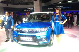 Maruti to roll out the Suzuki Vitara Brezza on 8th March in India