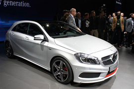 Mercedes to launch A-Class revamp on December 8th 2015