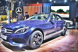 Mercedes Benz C Class revamp spy story uncovered