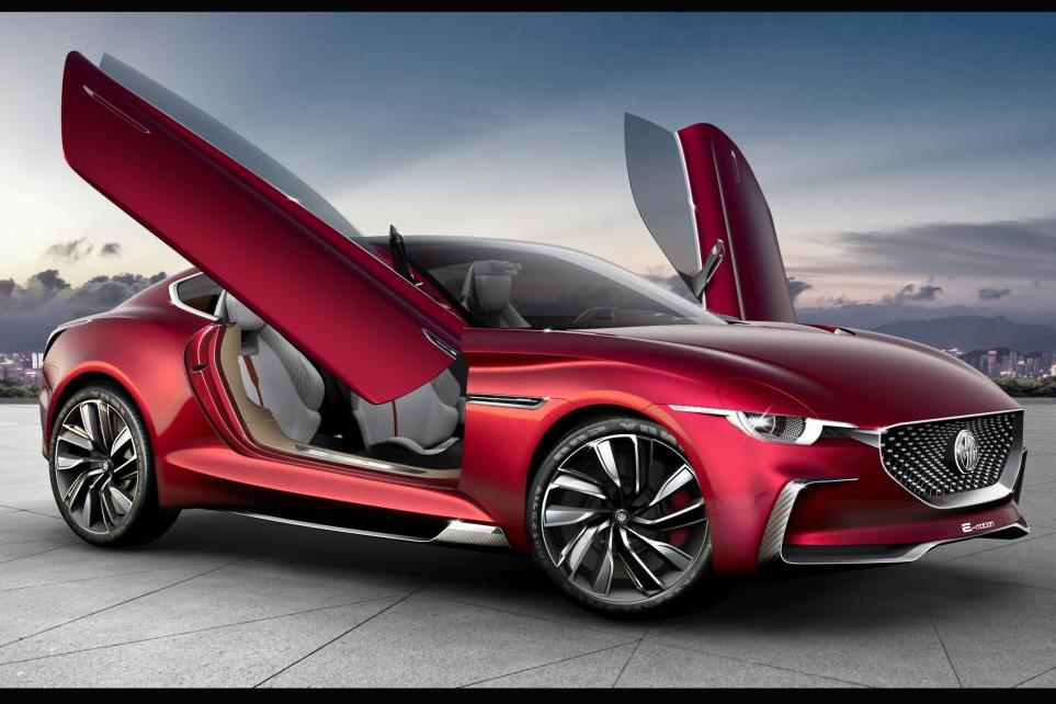 New MG CS Concept SUV at Shanghai motor show 2013