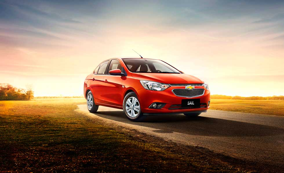 Coming petrol and diesel powered Chevrolet Sail