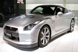 The all new Nissan GT-R set for a launch