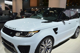 A few things to note down in the latest Range Rover Sports SVR