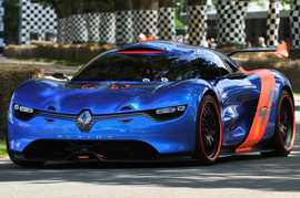Renault un-wraps the all new Alpine sports car after 20 years