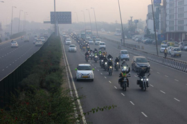 CEAT Road Safety initiative quite interesting