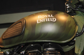 Royal Enfield craze is going world-wide now