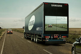 The new launch of the Samsung and this time it is the Samsung Truck