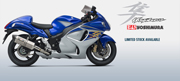 Suzuki introduces New Hayabusa Z for INR 16.20 Lakh