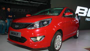 A Tata Bolt and Zest car sales in April 2015