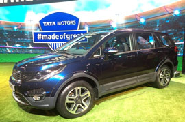 Tata Hexa launched on 18 January 2017 in India