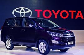 Toyota Innova Production stops
