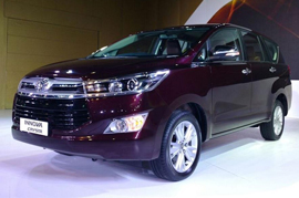 The all new Toyota InnovaCrysta coming up in the mid of the year 2016