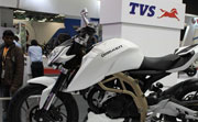 TVS Apache to be launched around the corner