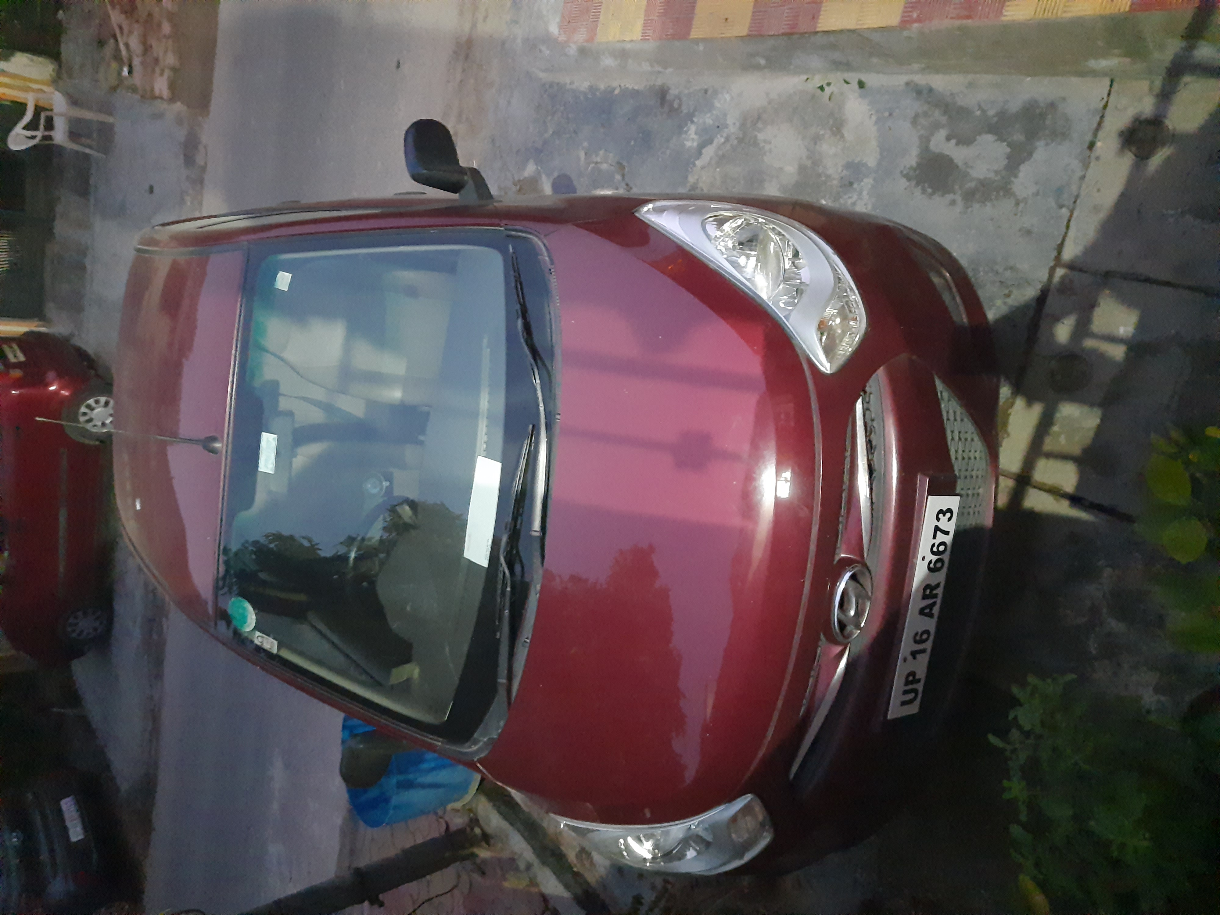 Hyundai I10i 10 magna with CNG